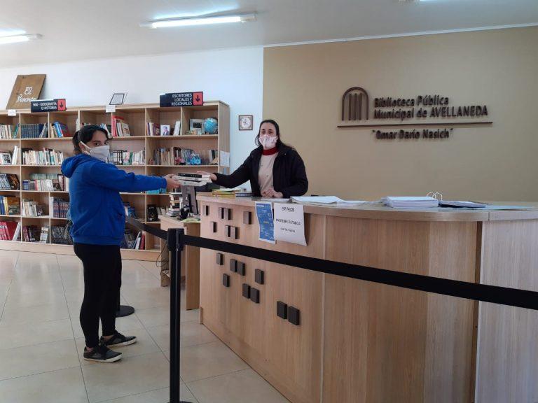 NUEVOS HORARIOS DE ATENCIÓN DE LA BIBLIOTECA MUNICIPAL DE AVELLANEDA