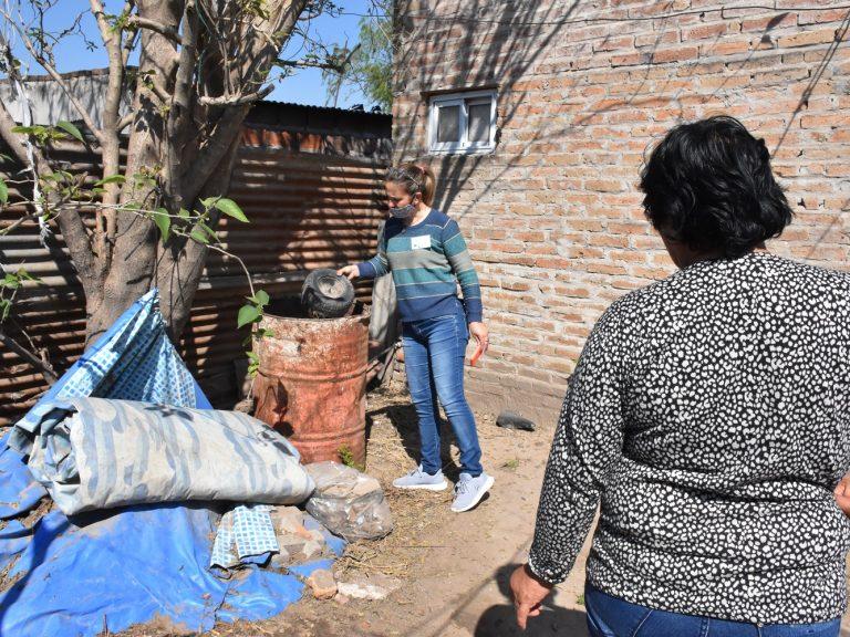 DENGUE: CONTINUAMOS REFORZANDO LAS ACCIONES PREVENTIVAS