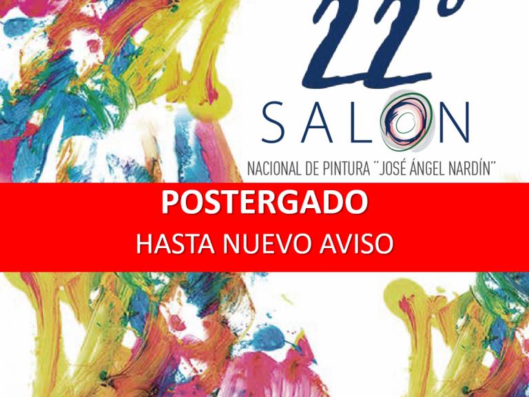 SE POSTERGÓ LA INAUGURACIÓN DEL 22° SALÓN NACIONAL DE PINTURA EN AVELLANEDA