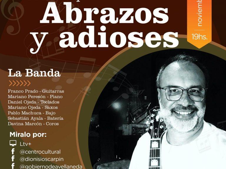 """BRUNO ZUPEL PRESENTA SU DISCO """"ABRAZOS Y ADIOSES"""" EN AVELLANEDA"""
