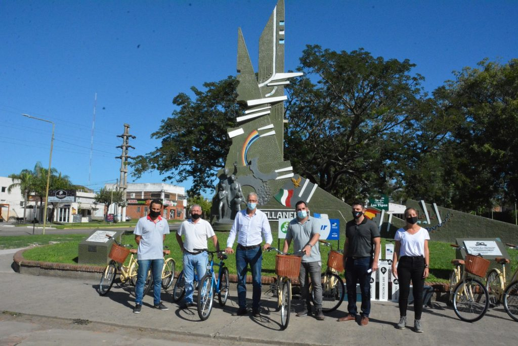 Plan de movilidad sustentable: Avellaneda pone a disposición de los turistas, bicicletas para conocer la ciudad