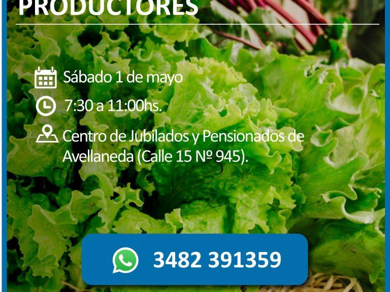 La Feria de pequeños productores te espera este 1 de mayo