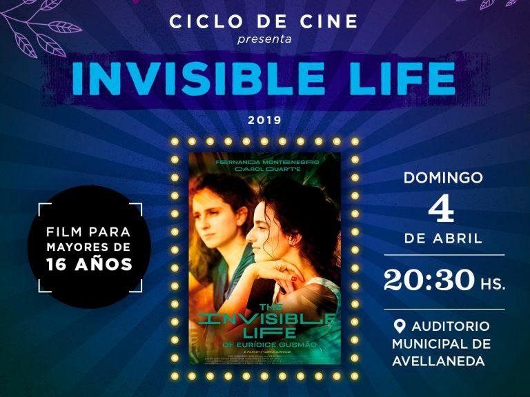 """Con la proyección de """"Invisible life"""", culmina el ciclo de cine por el Mes de la mujer en Avellaneda"""