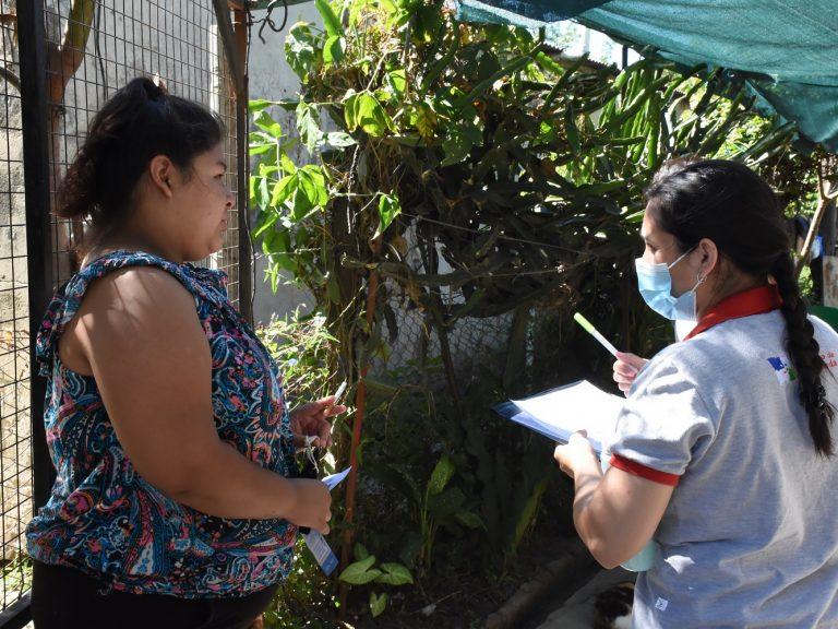 Dengue: Promotores Municipales continúan los operativos de información y descacharrado en B° Martín Fierro