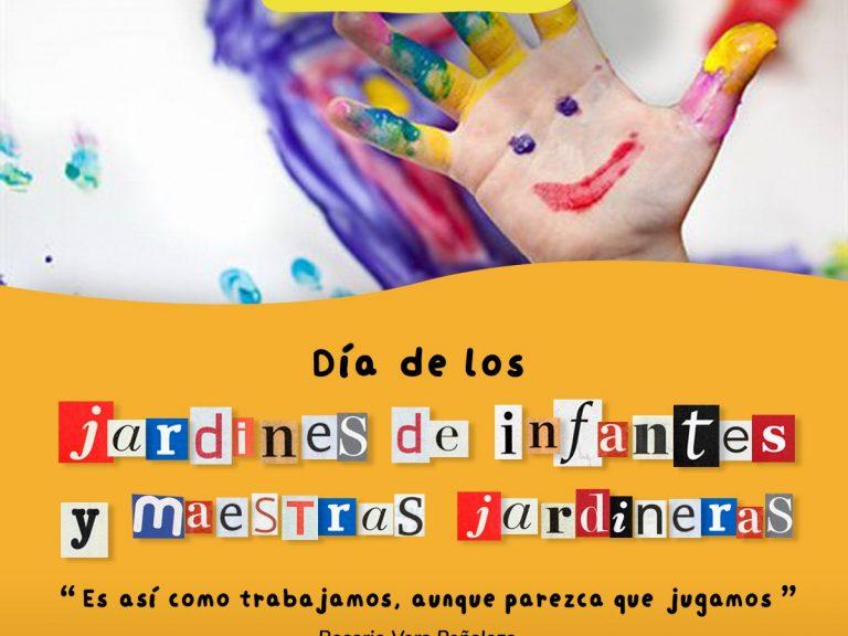 Felicidades a los Jardines de infantes y sus maestras