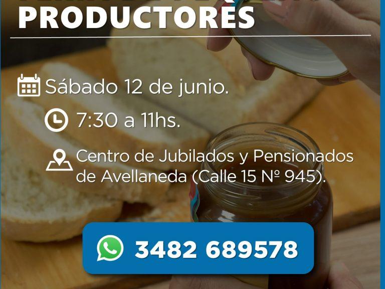 Frutas, verduras, panificados y mucho más en la Feria de productores de Avellaneda