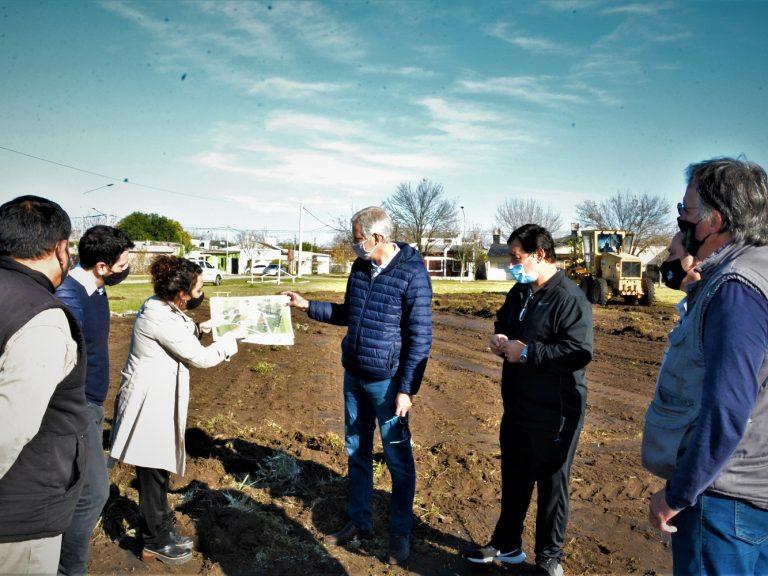 """B° Libertad: """"Creamos nuevos espacios verdes para democratizar el acceso a la vida saludable"""", destacó el Intendente Scarpin"""