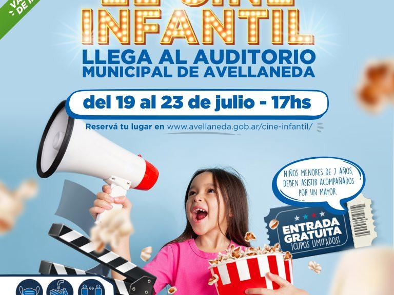 Vacaciones de invierno. Arranca el cine infantil en Avellaneda