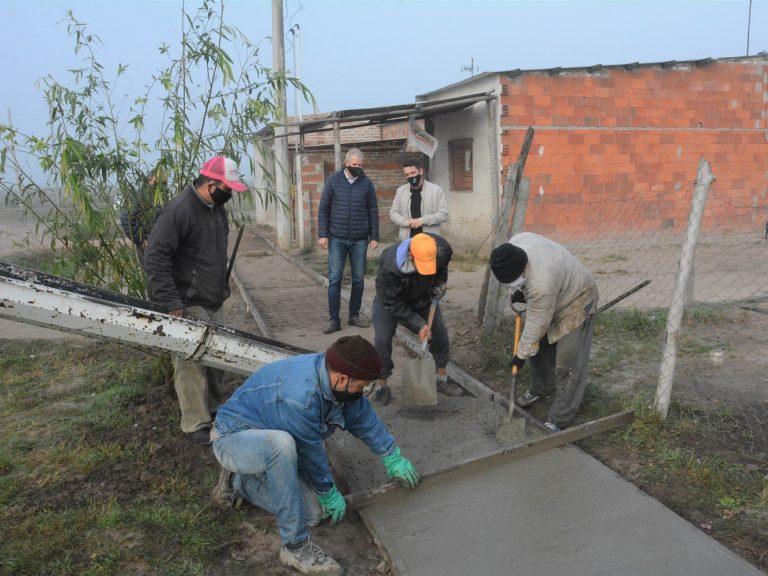 Los vecinos y el Gobierno de Avellaneda juntos en la concreción de obras de conectividad