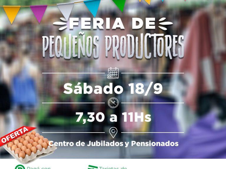 Encontrá lo mejor para tu mesa en la Feria de productores de Avellaneda
