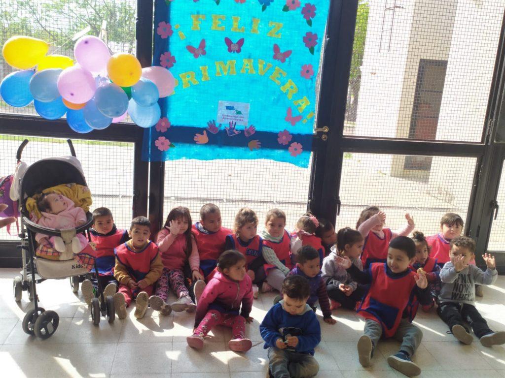 Avellaneda trabaja en el desarrollo integral de la primera infancia