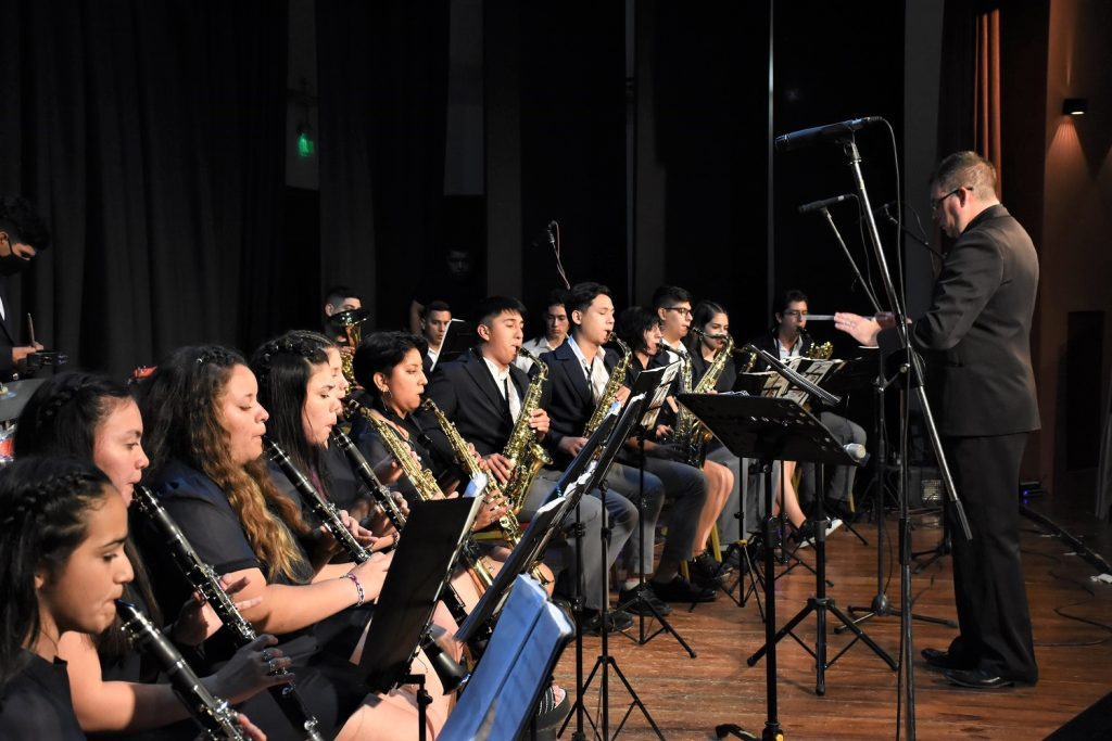 Exitoso Festival de bandas de música 2021 en Avellaneda